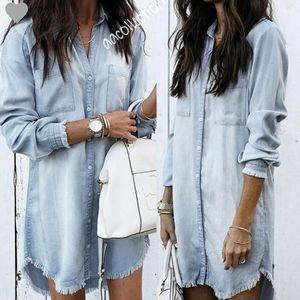 Dresses & Skirts - Denim Tunic Dress